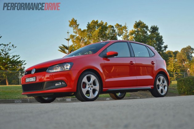 2013 Volkswagen Polo GTI red