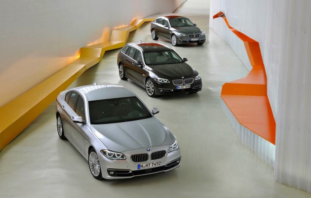 2014 BMW 5 Series range