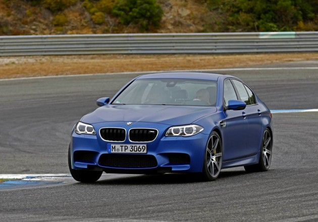 2014 BMW M5 driving