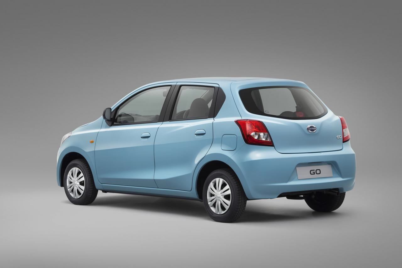 Datsun GO unveiled - not the Datsun you might expect ...