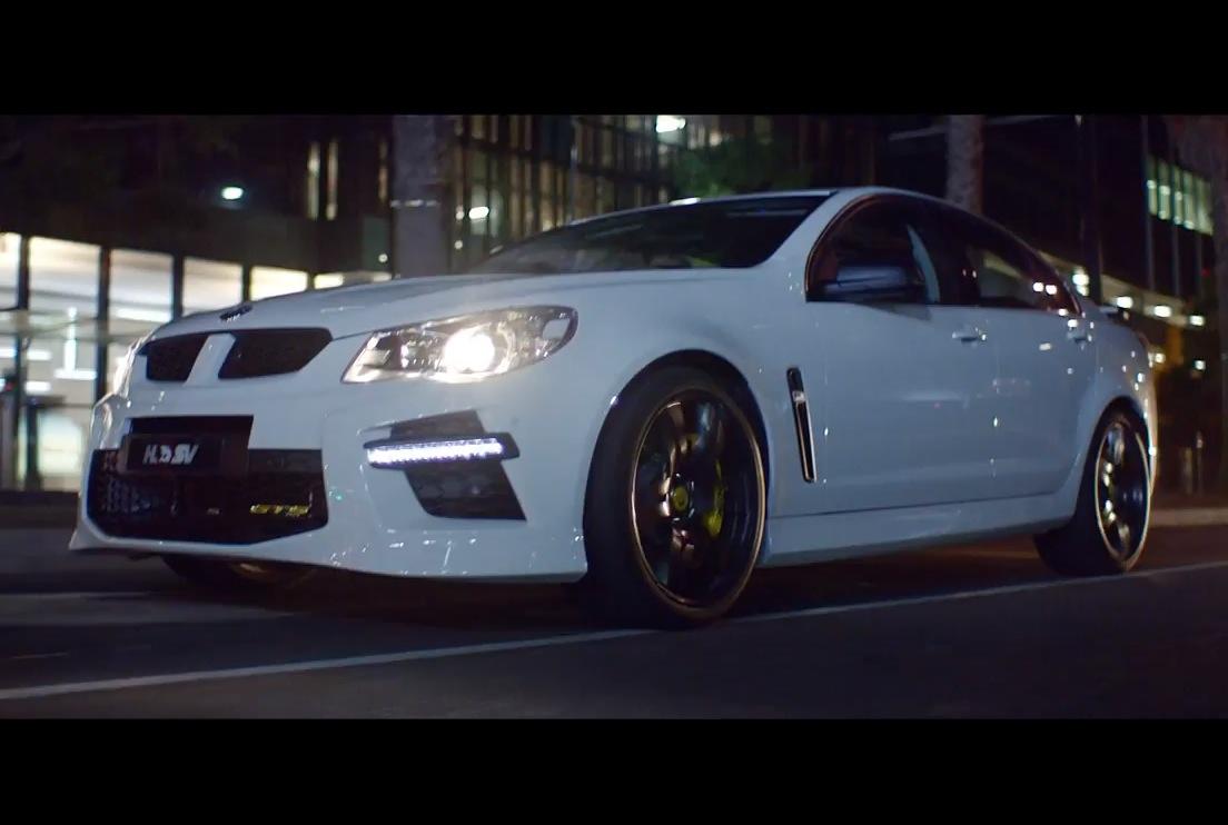 video 2014 hsv gts genf commercial rekindles spirit