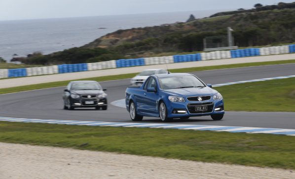 2014 Holden VF Commodore SS V Redline-Phillip Island circuit