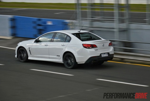 2014 Holden VF Commodore SS V Redline-Phillip Island pit lane
