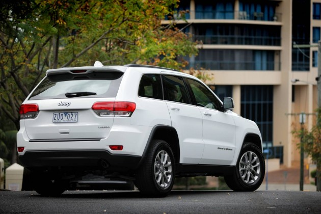 2014 Jeep Grand Cherokee Laredo rear