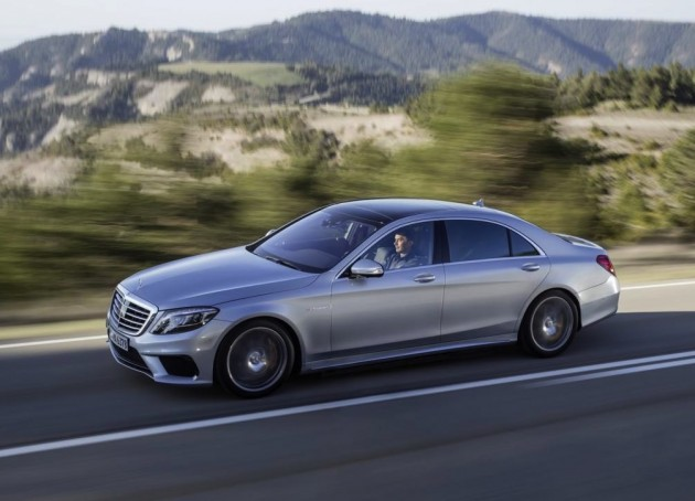 2014 Mercedes-Benz S 63 AMG driving