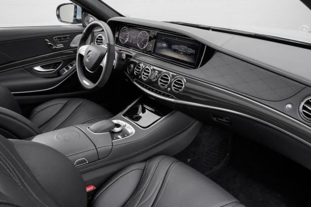 2014 Mercedes-Benz S 63 AMG interior