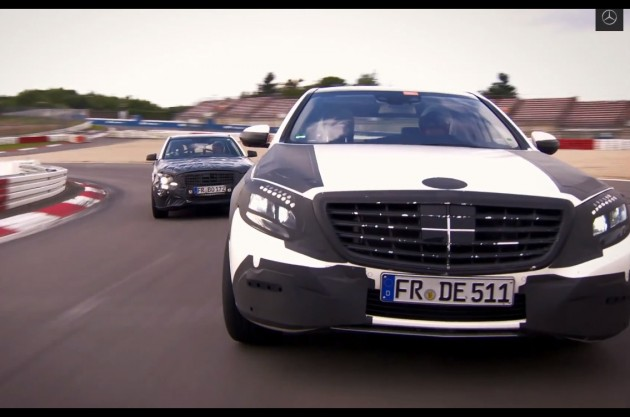 2014 Mercedes-Benz S-Class prototypes