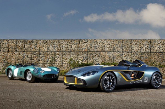 Aston Martin CC100 and DBR1