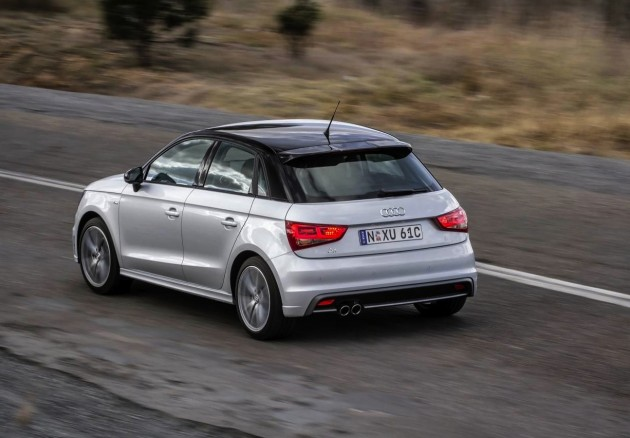 Audi A1 S line Competition-rear