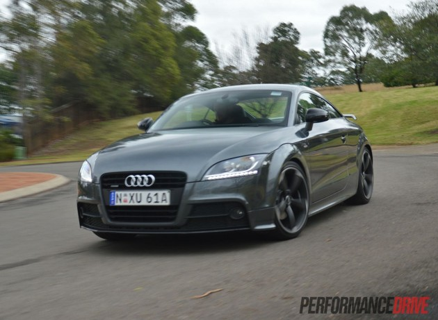 Audi TT S line Competition cornering