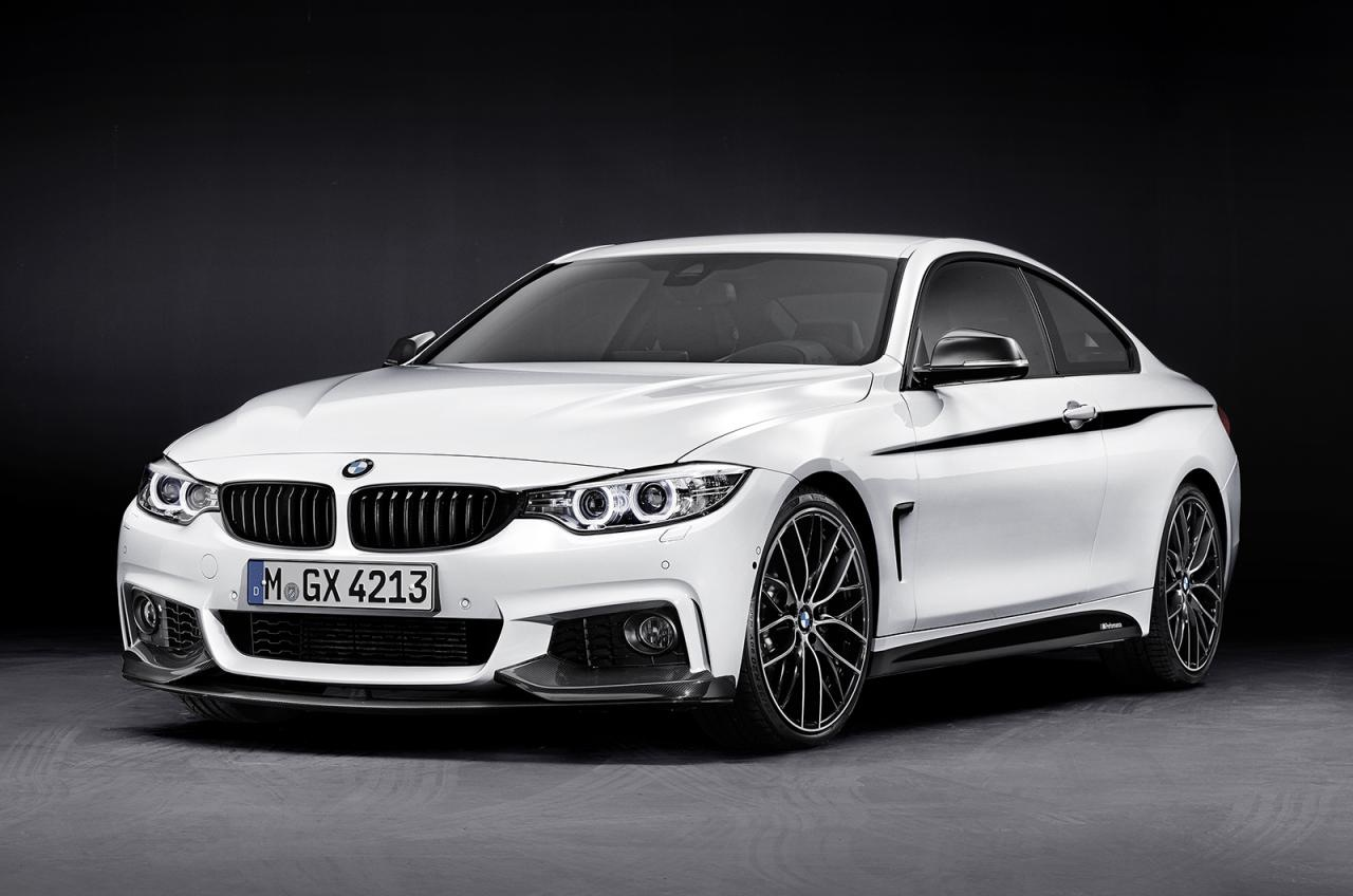 bmw 4 series m performance accessories revealed. Black Bedroom Furniture Sets. Home Design Ideas