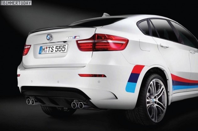 BMW X6 M Design Edition rear