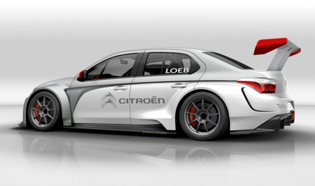Citroen C-Elysee WTCC preview-rear