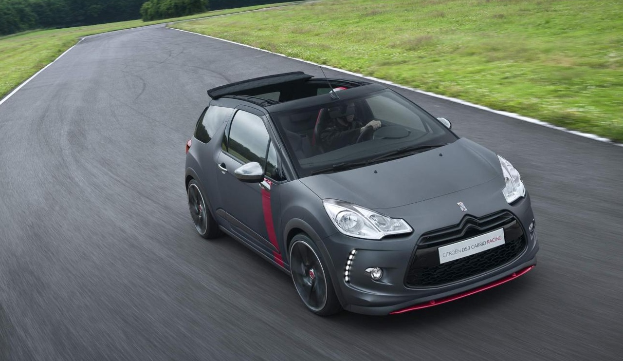 citroen ds3 cabrio racing concept revealed performancedrive. Black Bedroom Furniture Sets. Home Design Ideas