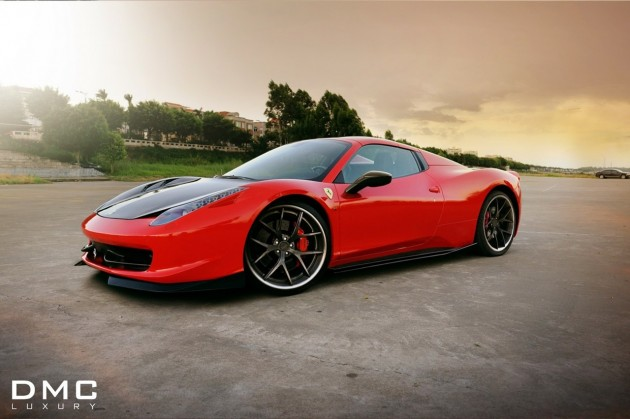 DMC Ferrari 458 Spider Elegante wheels