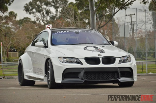 E92 BMW M3 Vorsteiner widebody kit