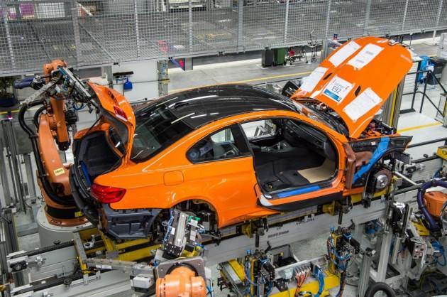 E92 BMW M3 production