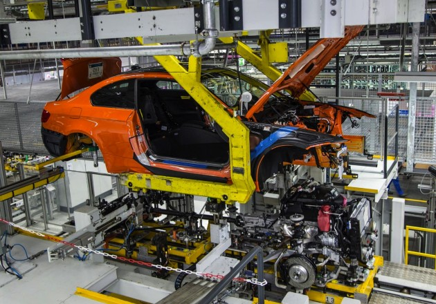 E92 BMW M3 production-Regensburg