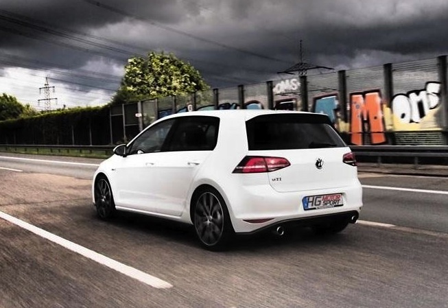 hg motorsport tunes the volkswagen golf gti mk7 performancedrive. Black Bedroom Furniture Sets. Home Design Ideas