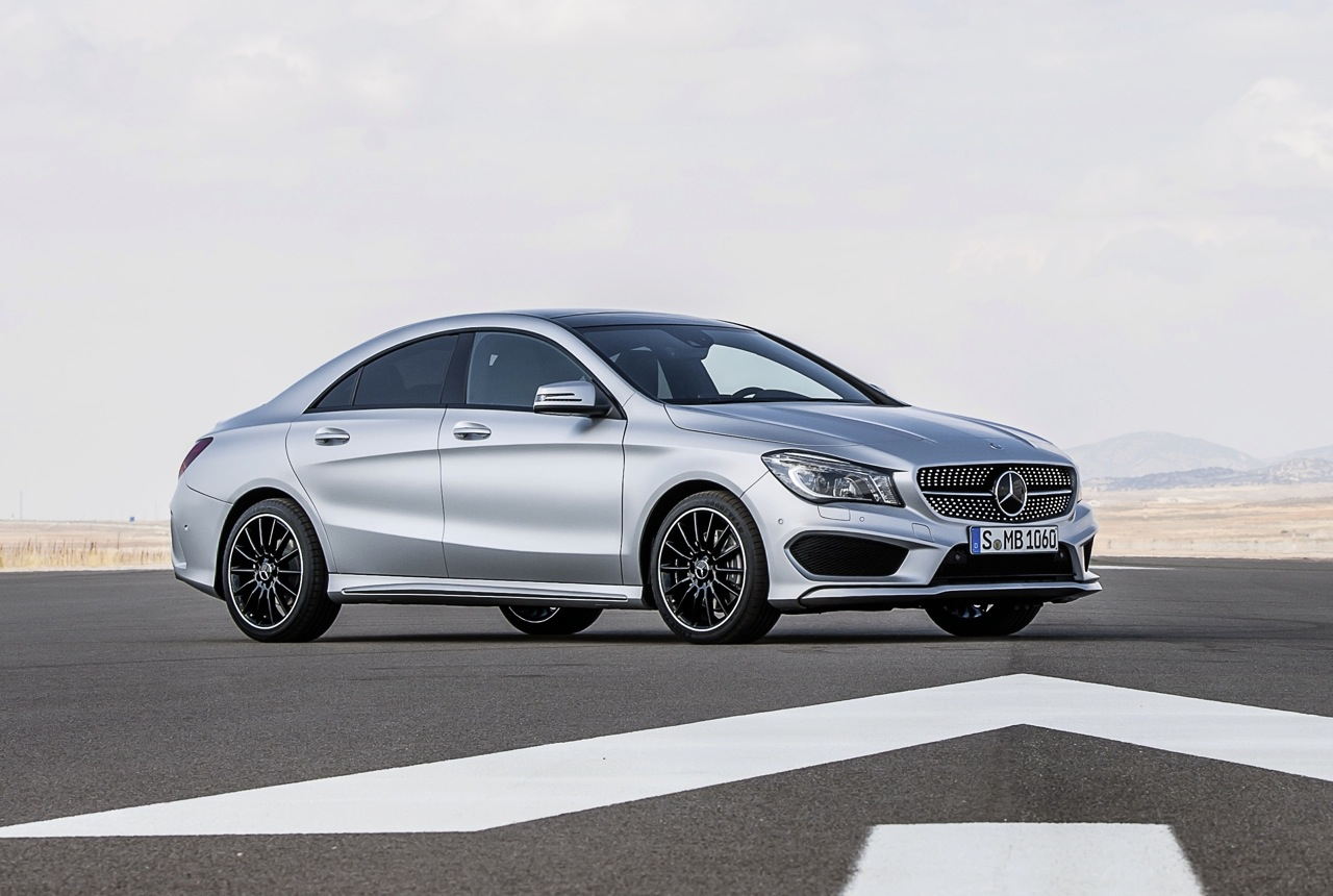 MercedesBenz CLAClass on sale in October from 49900