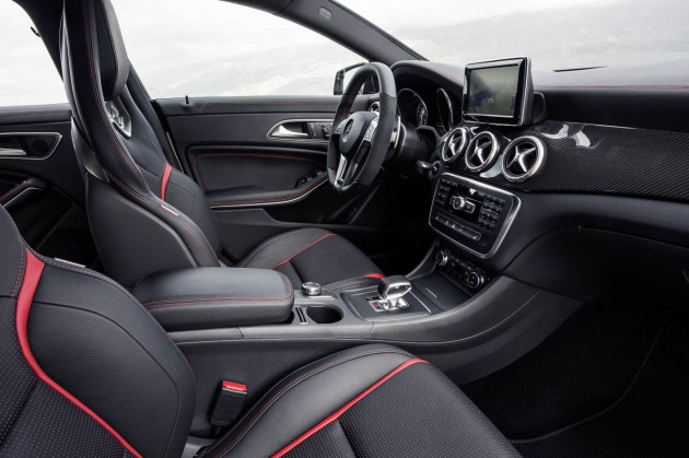 Mercedes-Benz CLA 45 AMG interior