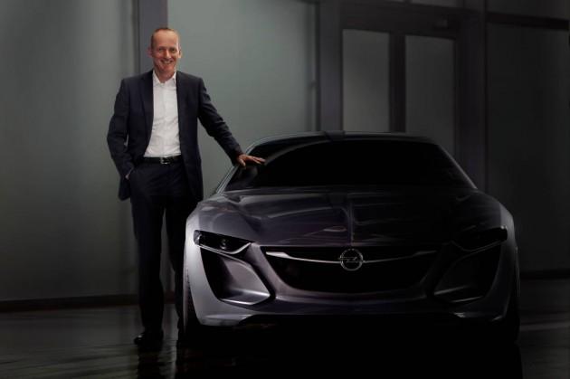 Opel Monza Concept preview-Opel CEO Karl-Thomas Neumann