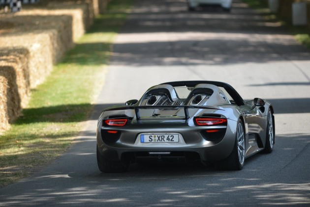 Porsche 918 Spyder at 2013 Goodwood Festival of Speed