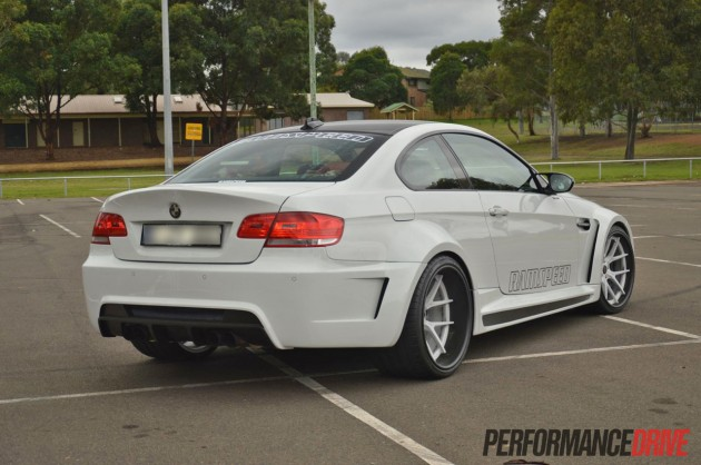 RamSpeed BMW M3 Vorsteiner widebody rear-