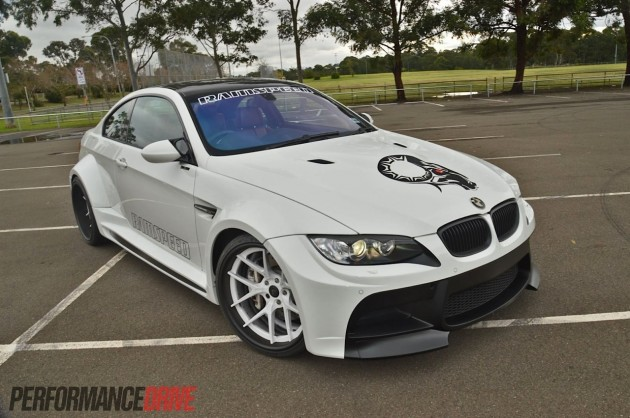 RamSpeed BMW M3 Vorsteiner widebody