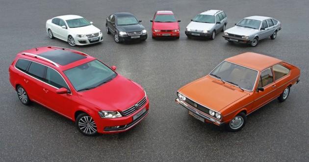 Volkswagen Passat 40th anniversary
