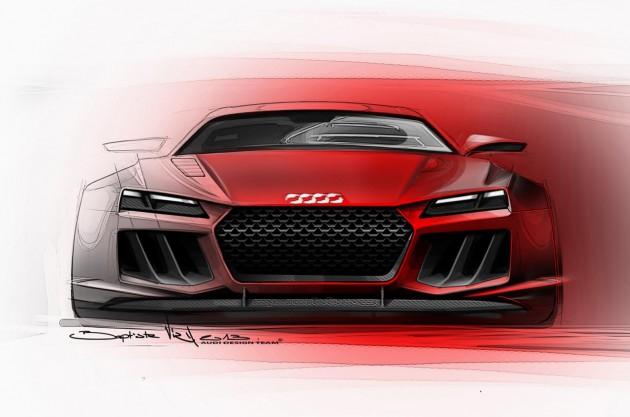 2013 Audi Quattro Concept-front