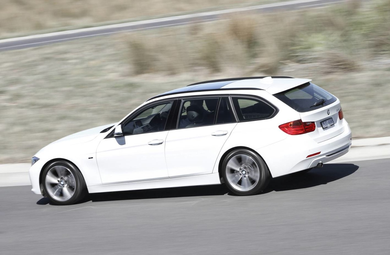 BMW Series Touring White - Bmw 3 series touring