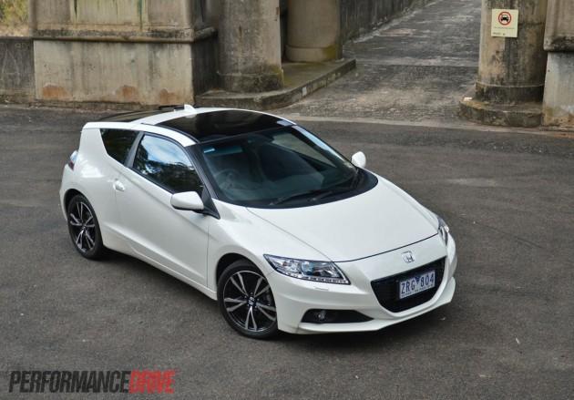 2013 Honda CR-Z Premium White