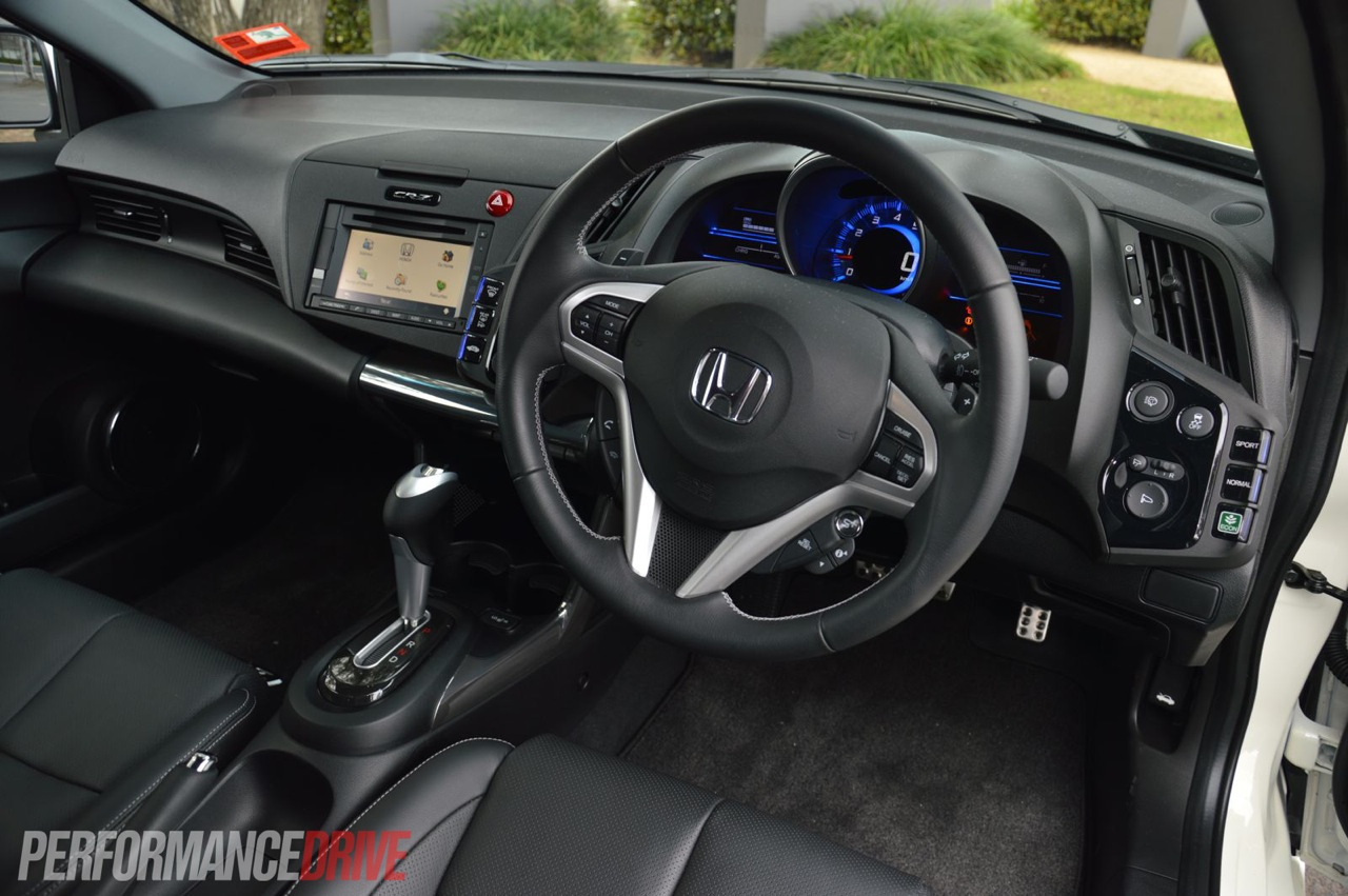 2013 honda cr z interior