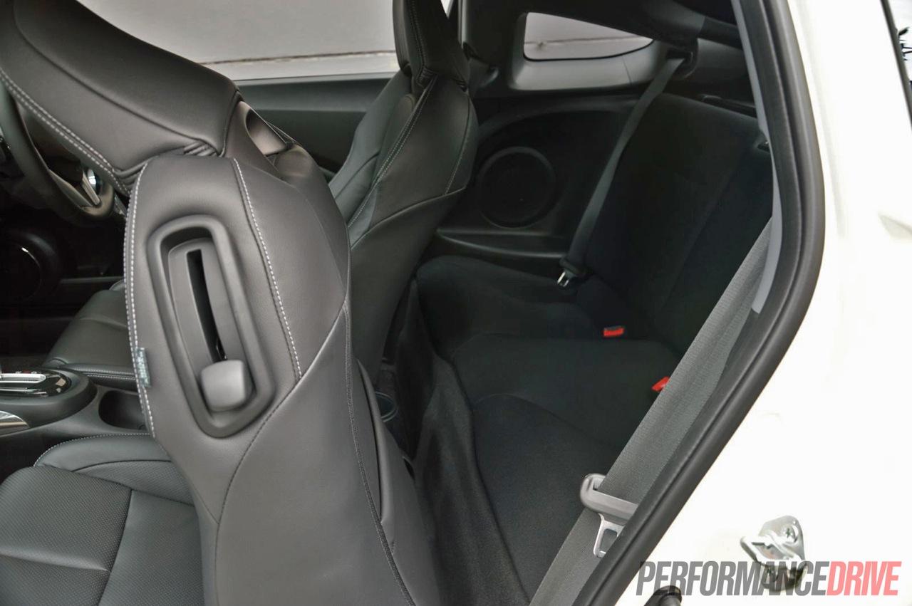 2013 Honda CR Z Rear Seats