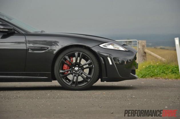 2013 Jaguar XKR-S bonnet