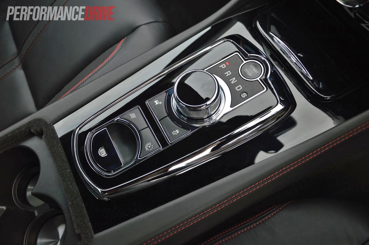 2013 Jaguar Xkr S Gear Selector