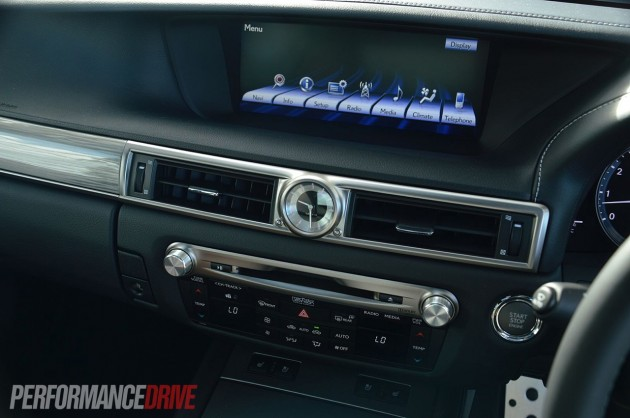 2013 Lexus GS 350 F Sport 12.3in screen