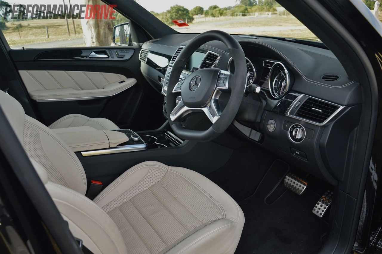 2013 mercedes benz gl 63 amg review video performancedrive for Mercedes benz upholstery