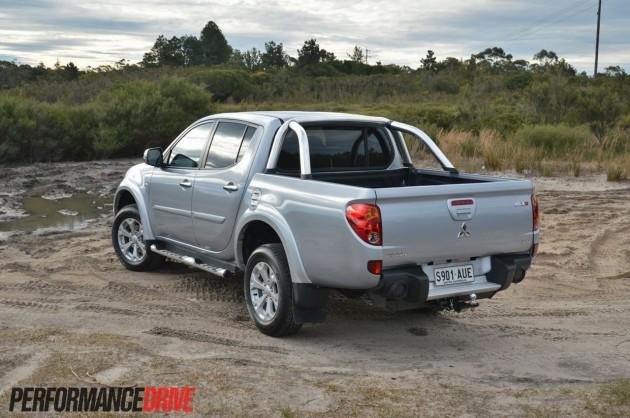 2013 Mitsubishi Triton GLX-R rear
