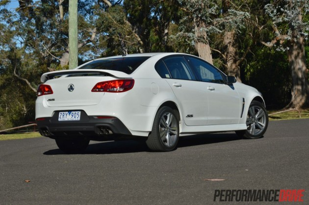 2014 Holden VF Commodore SS back