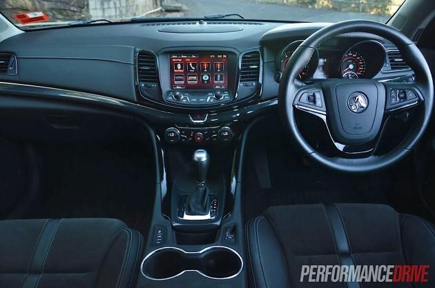 2014 Holden VF Commodore SS interior