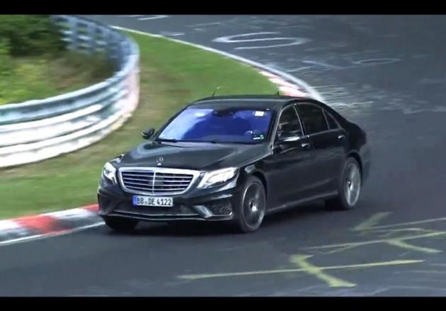 2014 Mercedes-Benz S 65 AMG prototype