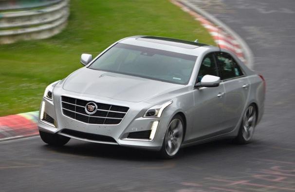 3024 Cadillac CTS Vsport at Nurburgring