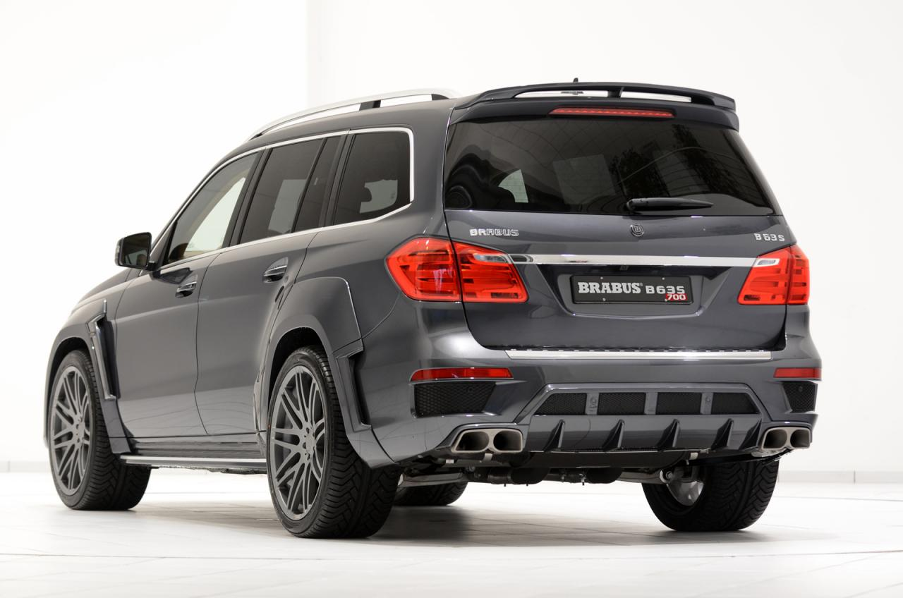 700hp brabus b63s widestar tune for mercedes ml and gl 63 for Mercedes benz gls 63 amg