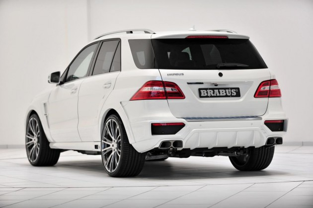 Brabus B63S 700 Widestar Mercedes-Benz ML 63 AMG rear