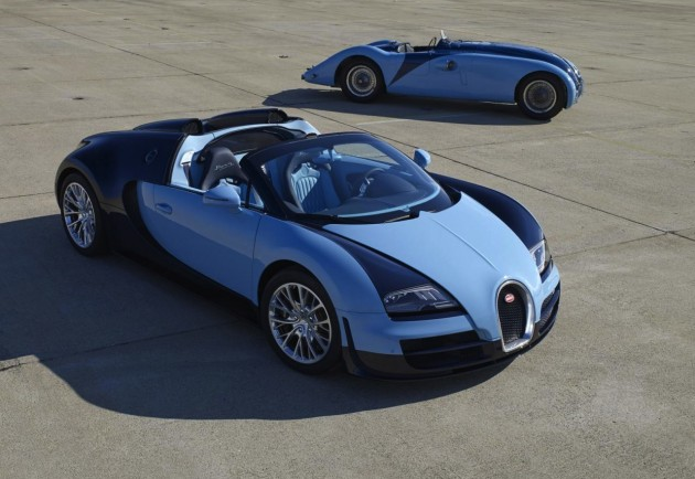 Bugatti Veyron Grand Sport Vitesse Jean-Pierre Wimille Legend Edition with 57G Tank