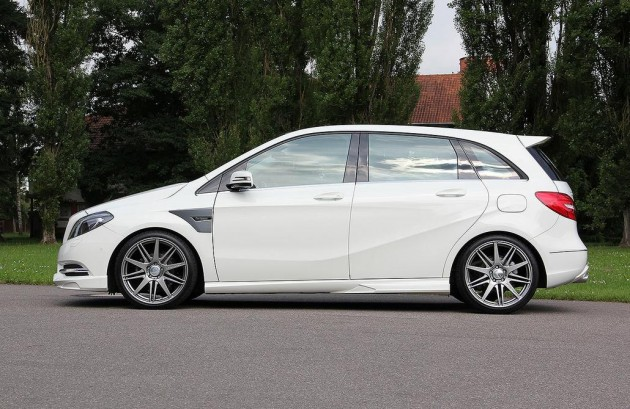 Carlsson Mercedes-Benz B-Class lowered