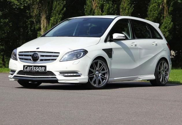 Carlsson Mercedes-Benz B-Class-white