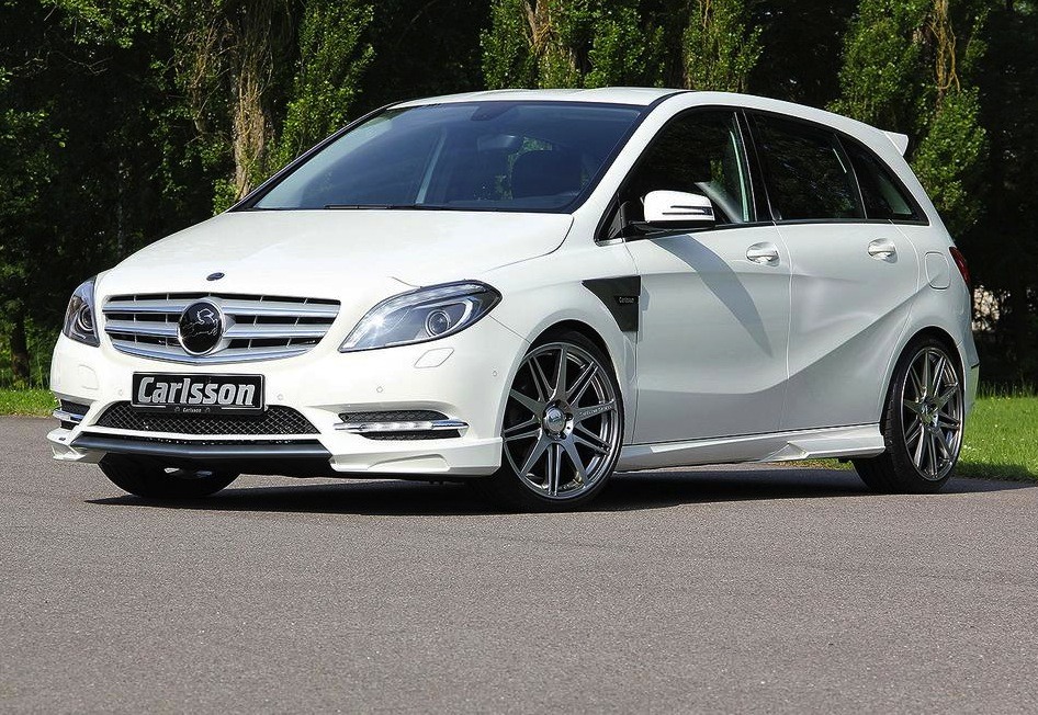 carlsson mercedes benz b class upgrade package announced performancedrive. Black Bedroom Furniture Sets. Home Design Ideas